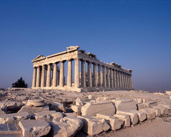 La arquitectura griega una cultura que pertenec a a la for Cultura de la antigua grecia
